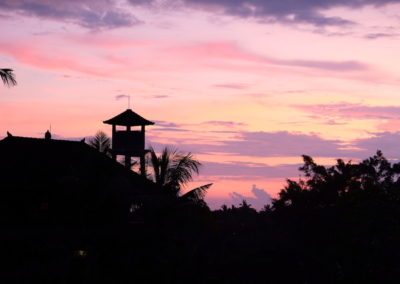 Sunset Ubud